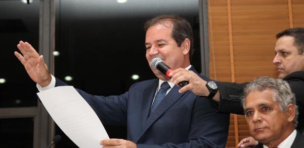 Tião Viana toma posse no Acre - Sérgio Vale/Secom
