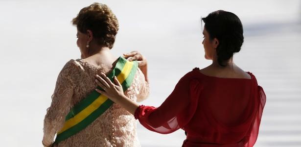 Em seu segundo mandato, Dilma Rousseff tem enfrentado a pressão de grupos que querem sua saída - Ueslei Marcelino/Reuters