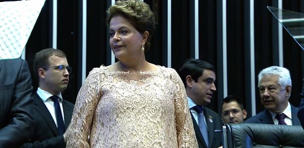 Dilma toma posse para o segundo mandato - Reprodução