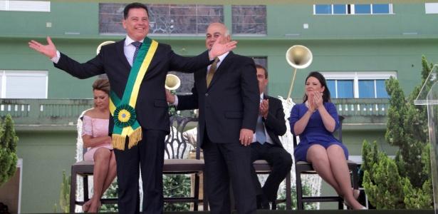 1º.jan.2015 - O governador de Goiás, Marconi Perillo (PSDB)