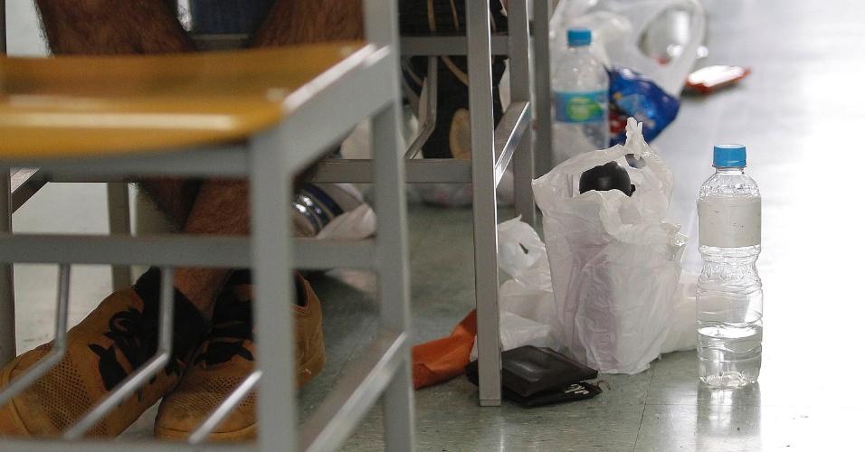 04.jan.2015 - Vestibulandos fazem prova da segunda fase da Fuvest 2015; foto chamada prova vestibular
