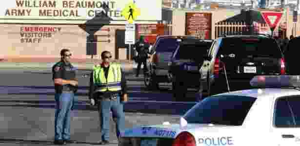 Cena de tiroteio nos EUA - Victor Calzada/El Paso Times/Reuters