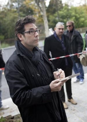 """7.jan.2015 - O cartunista francês Bernard Verlhac, conhecido como Tignous, morreu nesta quarta-feira (7) em um tiroteio na sede da revista """"Charlie Hebdo"""" em Paris, na França. A imagem é de arquivo e foi tirada no dia 2 de novembro de 2011. Homens armados e encapuzados abriram fogo contra funcionários na sede da revista francesa, matando 12 pessoas"""