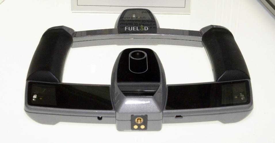 9.jan.2015 - O Scanify, da Fuel 3D, é um escâner 3D. Após captar um objeto, é possível imprimi-lo em uma impressora 3D