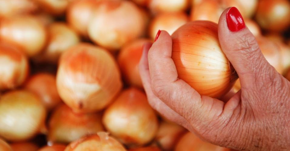 A cebola foi um dos itens com maior variação de preço em 2014, de 23,6%