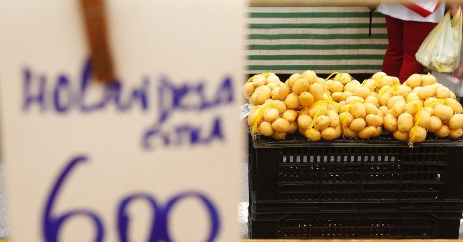 O custo para preparar batata frita ou purê em 2014 aumentou. Segundo o IBGE, o preço da batata-inglesa subiu 3,8% no ano