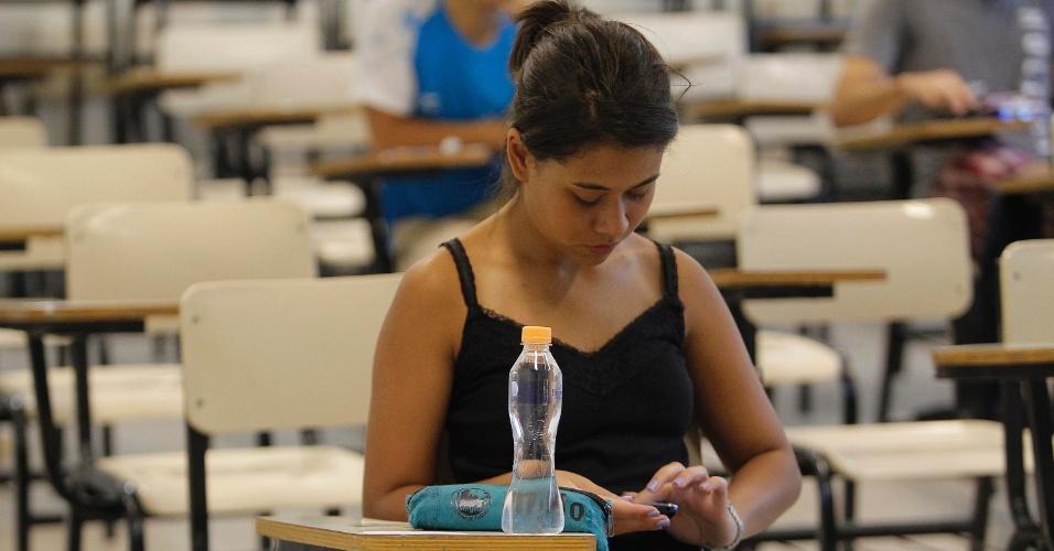 11.jan.2015 - Candidatos aguardam o início da segunda fase do vestibular 2015 da Unicamp (Universidade Estadual de Campinas). As provas começam neste domingo (11) e vão até terça-feira (13). São esperados 15.444 candidatos para esta etapa do processo seletivo