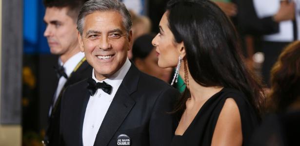 'Não teremos medo', disse ator George Clooney - Danny Moloshok/Reuters