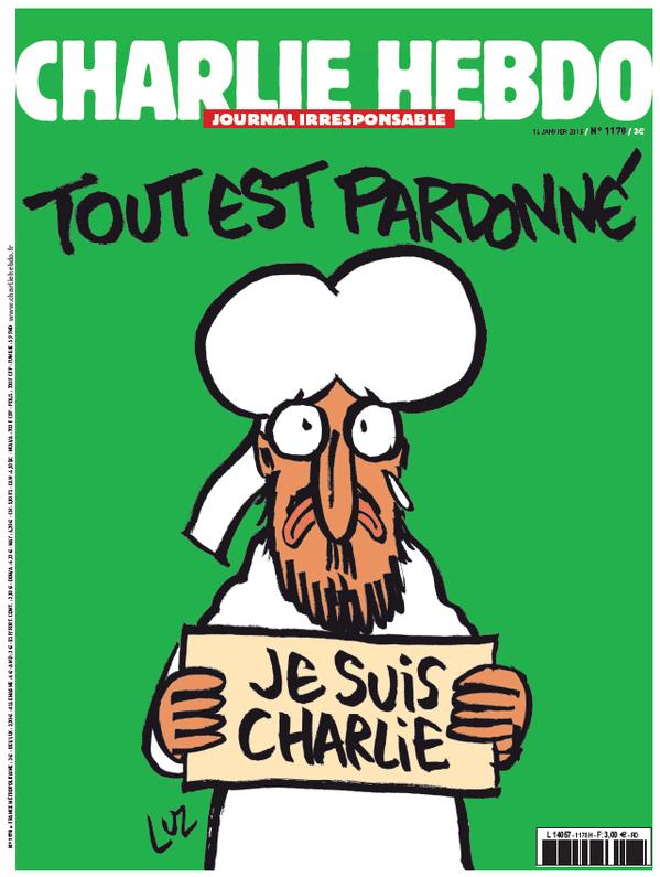 12.jan.2014 - Capa da edição de quarta-feira (14) da Charlie Hebdo