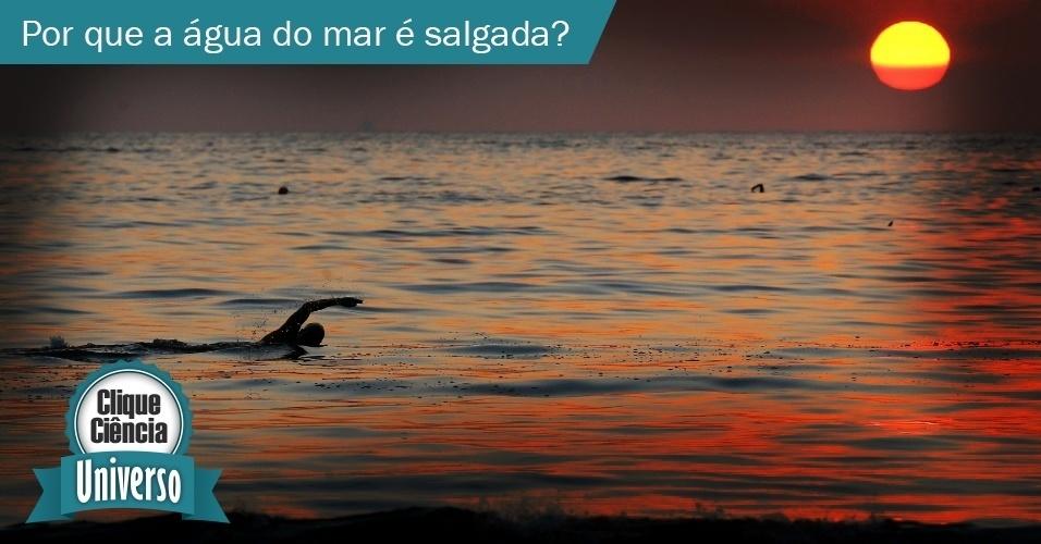 Clique Ciência: Por que a água do mar é salgada?