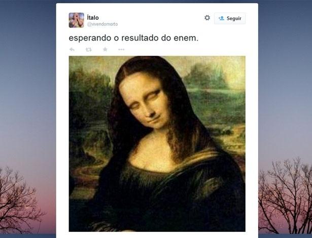 Candidatos publicam memes no Twitter antes da divulgação do resultado do Enem 2014