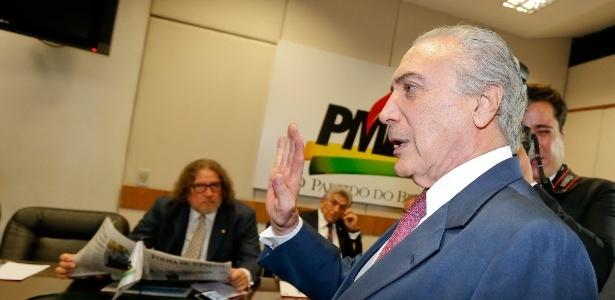 O vice-presidente Michel Temer, presidente nacional do PMDB - Pedro Ladeira - 14.jan.2015/Folhapress