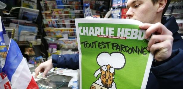 'Charlie' amplia para 5 milhões tiragem de 1ª edição pós-atentado - Stephane Mahe/ Reuters