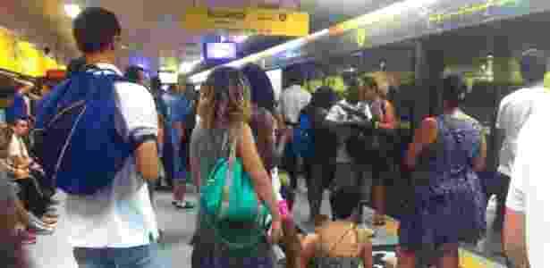 Linha 4 ligará a Luz, no centro, à Vila Sônia, zona oeste da capital - Mirthyani Bezerra/UOL