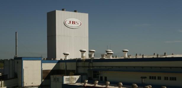 24.fev.2010 - Frigorífico da JBS em Lins (SP)