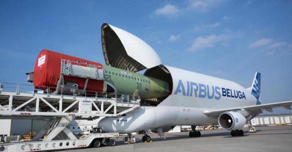 Cargueiro Airbus Beluga
