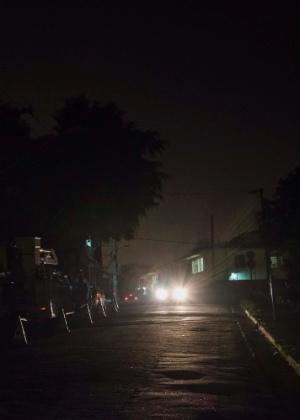 Apagão foi registrado em parte do bairro da Vila Ema, na zona leste de São Paulo, em 2015 - Chello Fotógrafo/Futura Press/Estadão Conteúdo