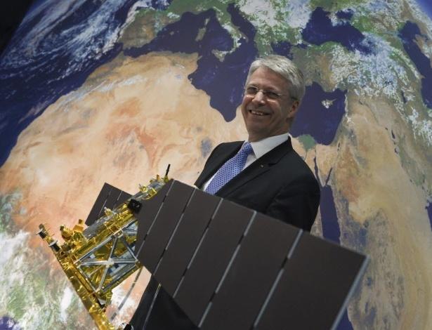 Diretor de Navegação Espacial Tripulada e Missões da ESA, Thomas Reiter