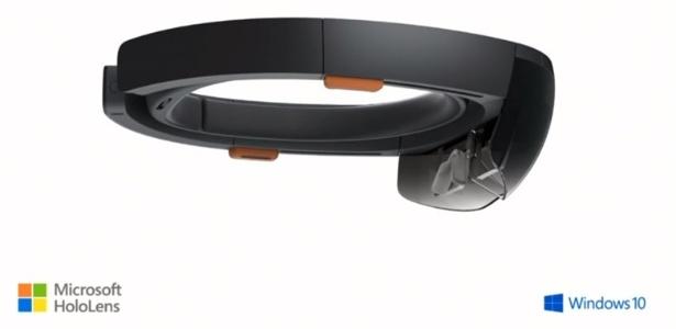 Óculos Holo Lens, da Microsoft, permitirão criar hologramas por meio do Holo Project - Divulgação