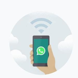 """Desembargardor considerou """"não razoável"""" a decisão de suspender o WhatsApp - Reprodução"""