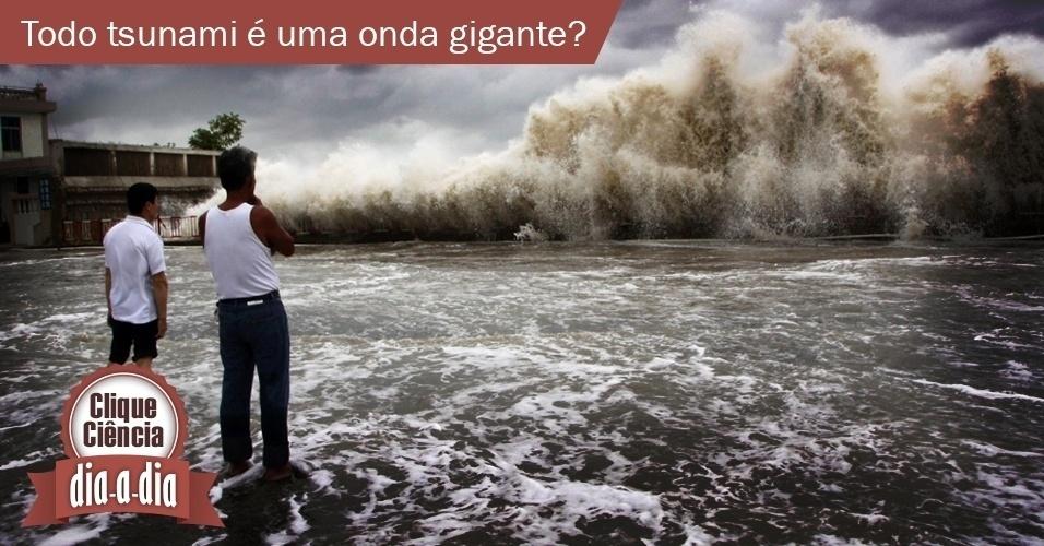 Clique Ciência: todo tsunami é uma onda gigante?