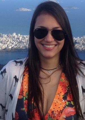 Karina Caciola passou em primeiro lugar no vestibular de medicina da Unifesp - Arquivo pessoal