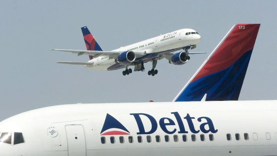 Aeronaves da Delta Airlines - Por Tracy Rucinski