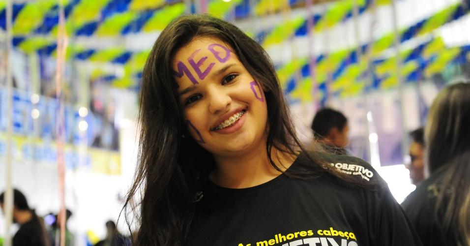 Barbara Teixeira, 18, foi aprovada em medicia na Fuvest