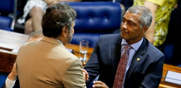 Romário está em seus primeiros dias como senador pelo PSB-RJ