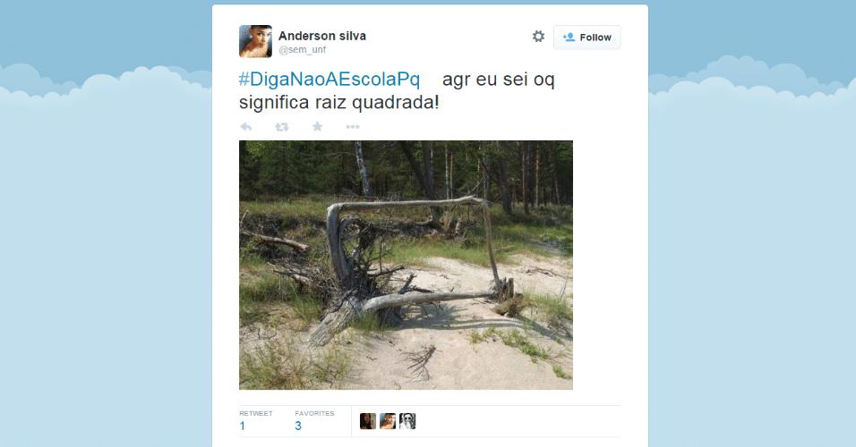 """O retorno às aulas em grande parte das escolas do país rendeu muitos memes e piadas nas redes sociais. A hashtag #DigaNãoAEscolaPq (""""Diga não à escola porque..."""") foi parar nos assuntos mais comentados do Twitter brasileiro. Confira algumas das piadas"""