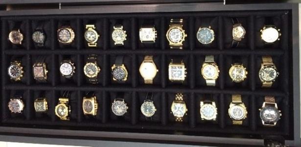 PF apreendeu quase 500 relógios de luxo na Lava Jato - Divulgação/Polícia Federal