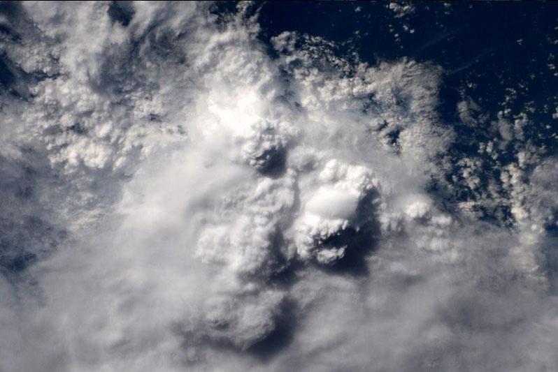6.fev.2015 - O astronauta norte-americano Terry Virts flagrou uma tempestade na região da Amazônia vista diretamente do espaço, da Estação Espacial Internacional (ISS, na sigla em inglês)