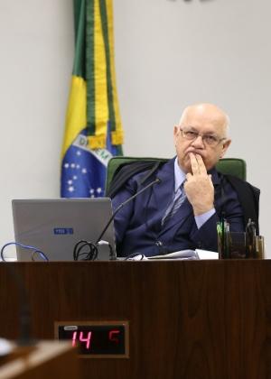 O ministro do STF (Supremo Tribunal Federal) Teori Zavasck