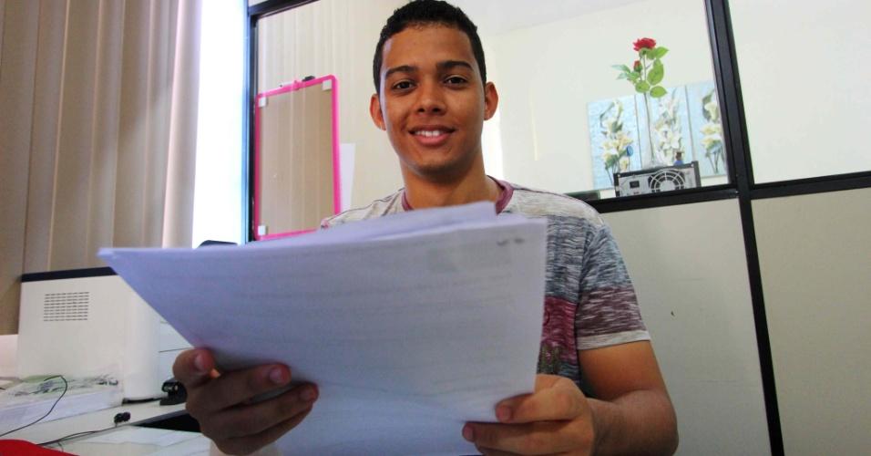 Wester Silva Vieira, 19, foi aluno de escola pública, estudou sozinho e passou em quatro faculdades públicas de medicina (1)