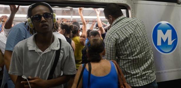 Tarifa do metrô do Rio vai aumentar de R$ 3,70 para R$ 4,10 a partir de 2 de abril