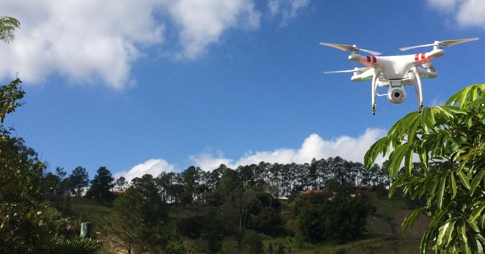 Imagens aéreas feitas com drones da empresa Alfa Drones, de São Paulo