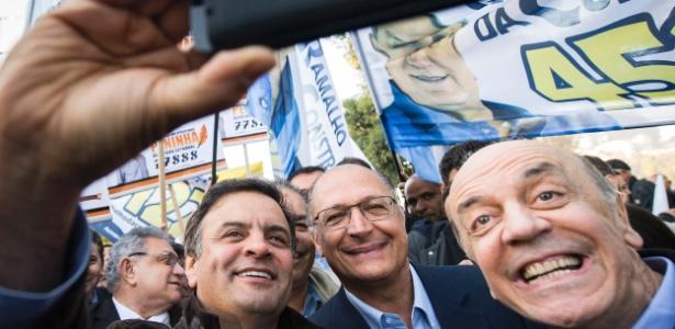 Aécio e Alckmin são os pilotos favoritos, Serra corre por fora