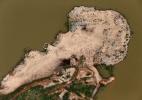 Estiagem: imagens aéreas exibem seca nas represas brasileiras - Paulo Whitaker/Reuters