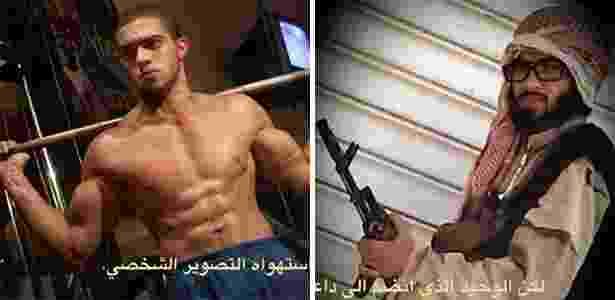 Islam Yaken, egípcio que deixou a vida de personal trainer para virar guerrilheiro do Estado Islâmico - Reprodução/The New York Times