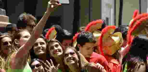 Estudantes participam da semana de recepção aos calouros na Faculdade de Medicina da USP em 2015  - J. Duran Machfee/Estadão Conteúdo