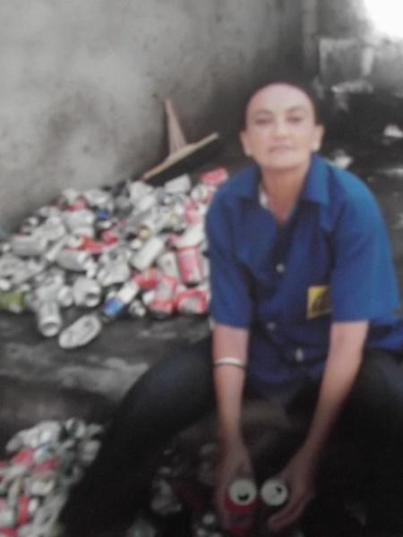 Rosangela da Silva Marinho, catadora de lixo. Ela é mãe de Thompson Vitor, 15, estudante que passou em 1º lugar no IFRN (Instituto Federal de Educação, Ciência e Tecnologia do Rio Grande do Norte)  - Arquivo Pessoal