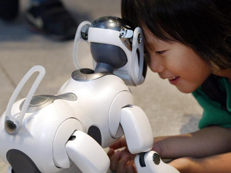 Cão-robô Aibo, da Sony