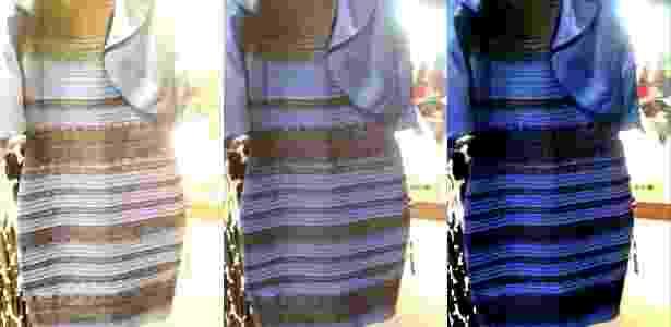 A imagem original do vestido: que cores você vê? - Reprodução/Wired