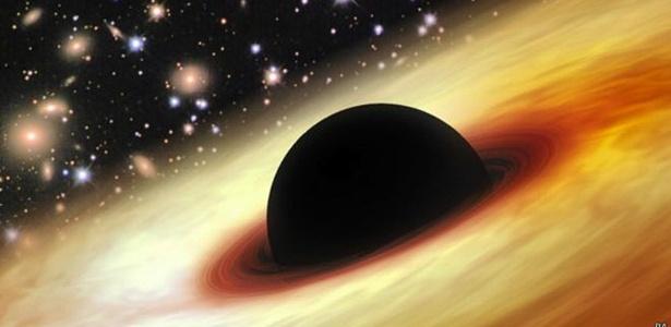 Buraco negro 12 bilhões de vezes maior que o Sol intriga cientistas