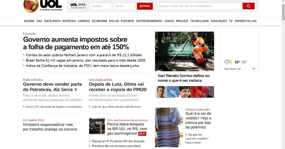 38a42b355 'Vestido de cor indefinida' é destaque na imprensa do Brasil e do mundo