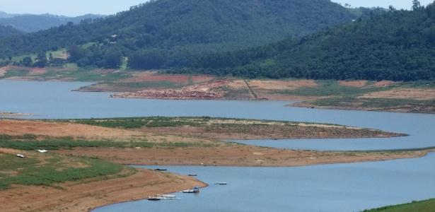 A situação do Cantareira seria pior se não fossem as chuvas de fevereiro e março - Gabriel Camara/Estadão Conteúdo