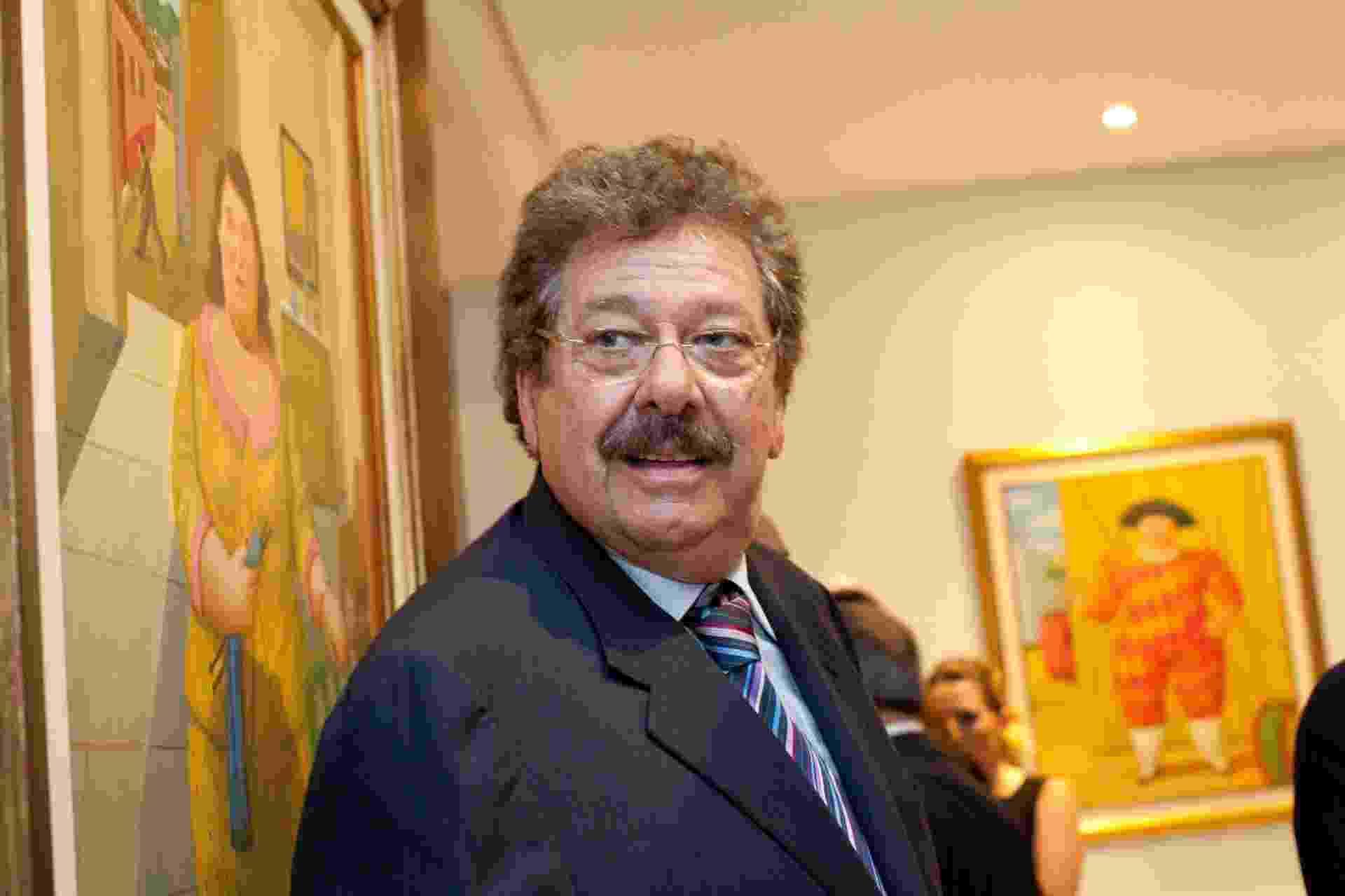 José Luís Cutrale, é industriário brasileiro, controlador de uma das maiores processadoras de suco de laranja do Brasil, a Cutrale - Leticia Moreira/Folhapress
