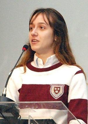 Larissa estuda economia em Harvard - Arquivo pessoal