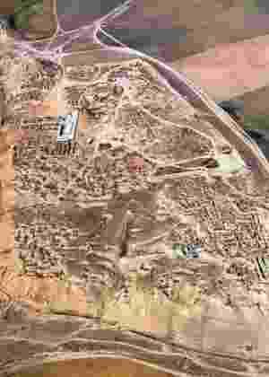 Visão aérea da cidade assíria de Nimrud, no Iraque atual - Unesco