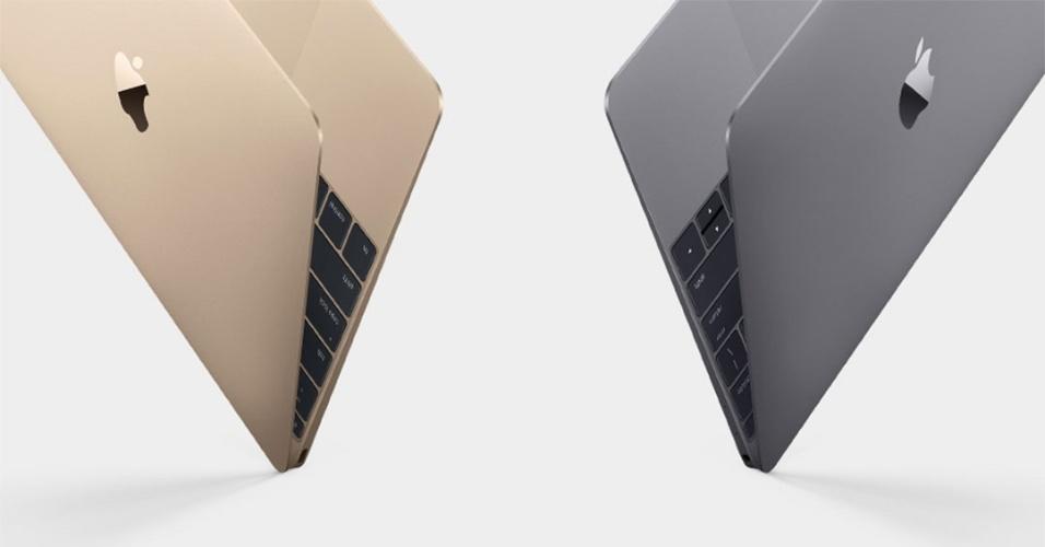Apple lança nova linha de computadores MacBooks; portáteis vão ter opções douradas e prateadas